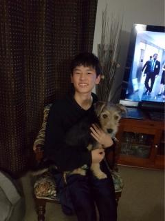 Y君(15歳)&Aさん(お母さん)